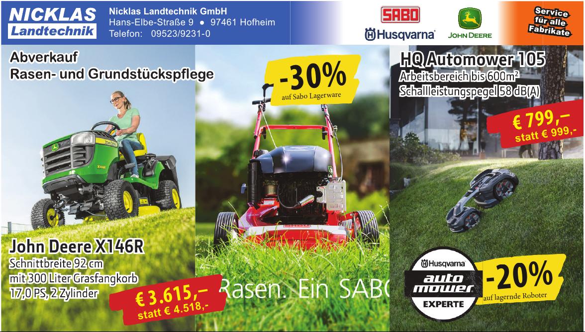 Nicklas Landtechnik GmbH