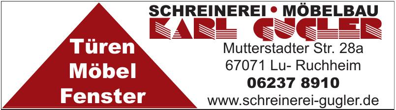 Schreinerei, Möbelbau Karl Gugler