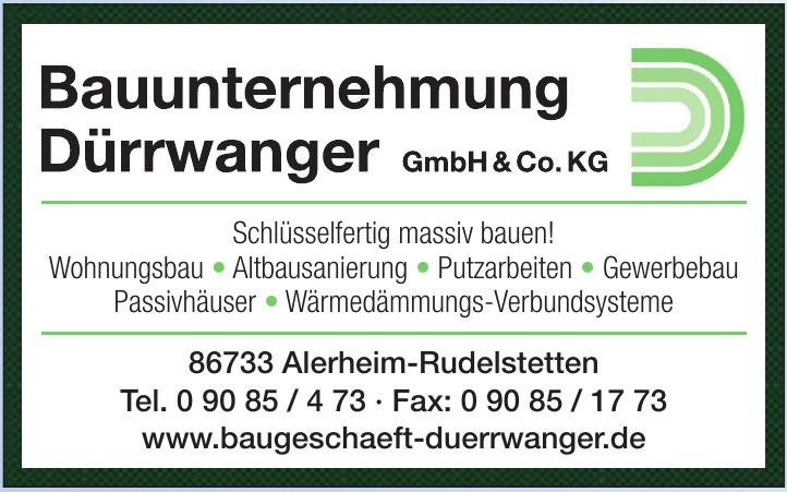 Bauunternehmung Dürrwanger GmbH & Co.KG