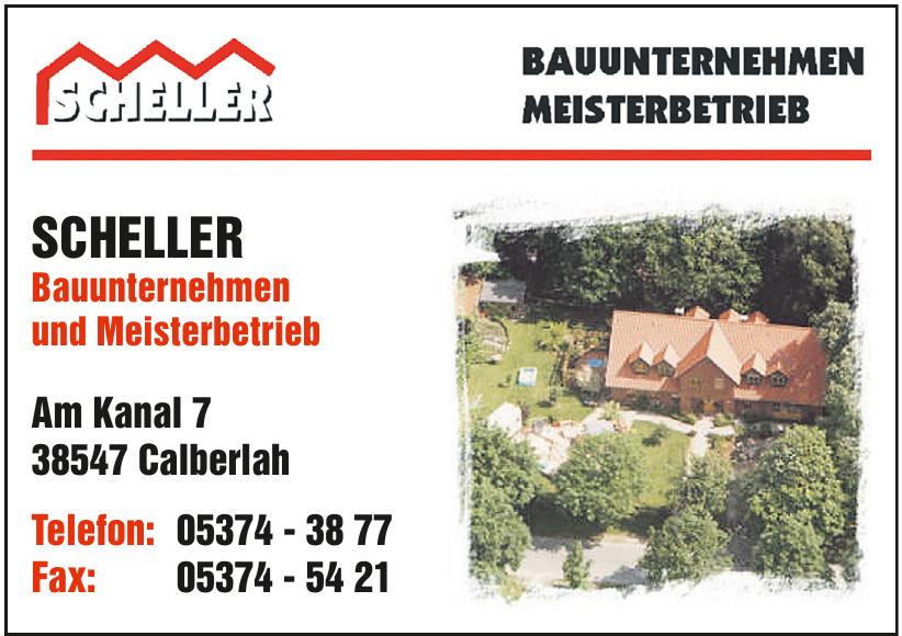 Scheller Bauunternehmen und Meisterbetrieb