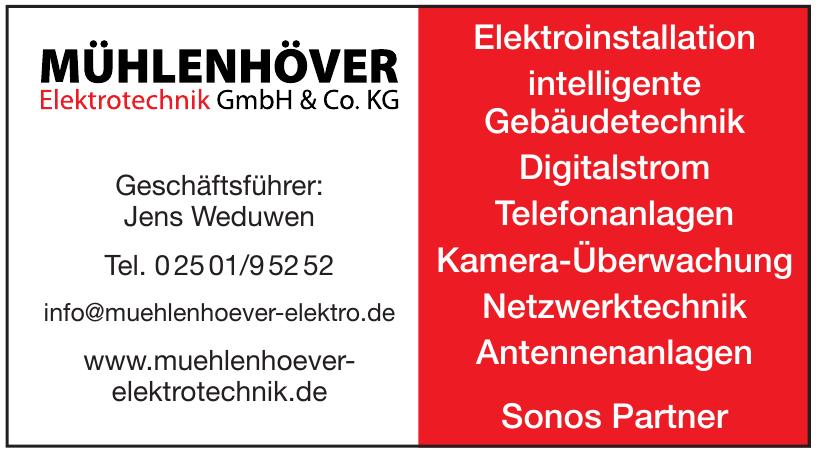 Mühlenhöver Elektrotechnik GmbH & Co. KG