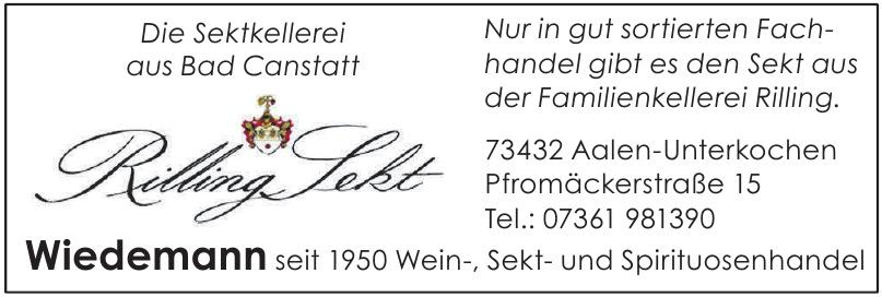 Wiedemann Weine