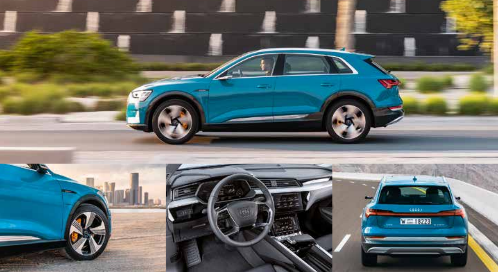 E-Volution Auf den ersten Blick sieht der e-tron wie ein ganz gewöhnlicher SUV von Audi aus.