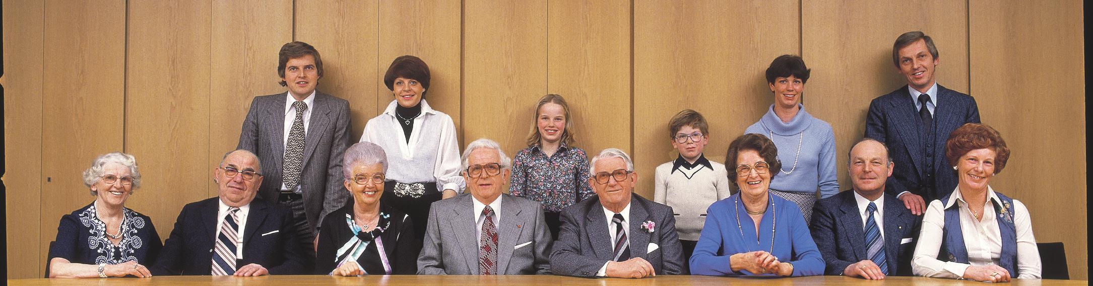 Die Familie in den 70er-Jahren, als Norderstedt zur Stadt wurde.