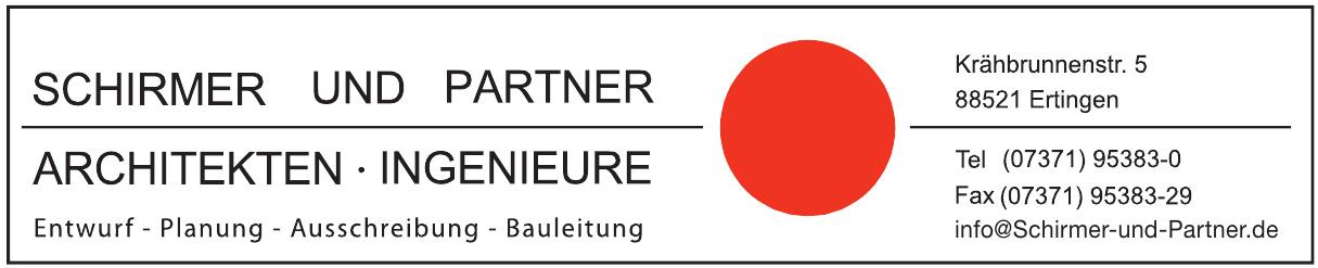 Schirmer und Partner Architekten, Ingeniere