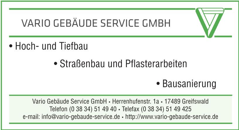 Vario Gebäude Service GmbH