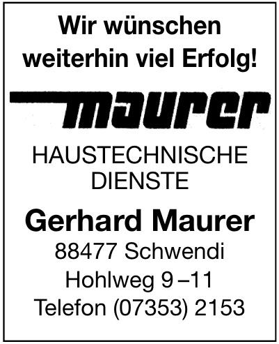Gerhard Maurer