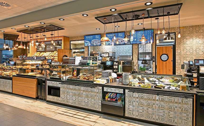 Was darf ́s denn sein? An der neuen Restauranttheke erwartet die Kunden eine leckere Auswahl an Gerichten.Was darf ́s denn sein? An der neuen Restauranttheke erwartet die Kunden eine leckere Auswahl an Gerichten.