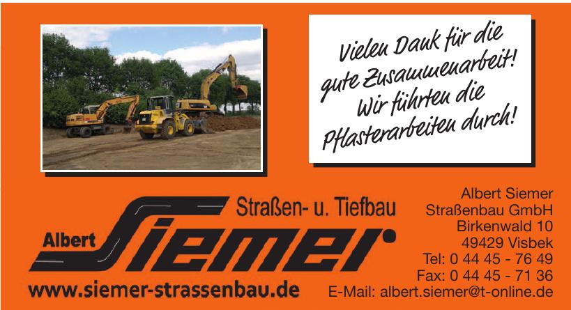 Albert Siemer Straßenbau GmbH
