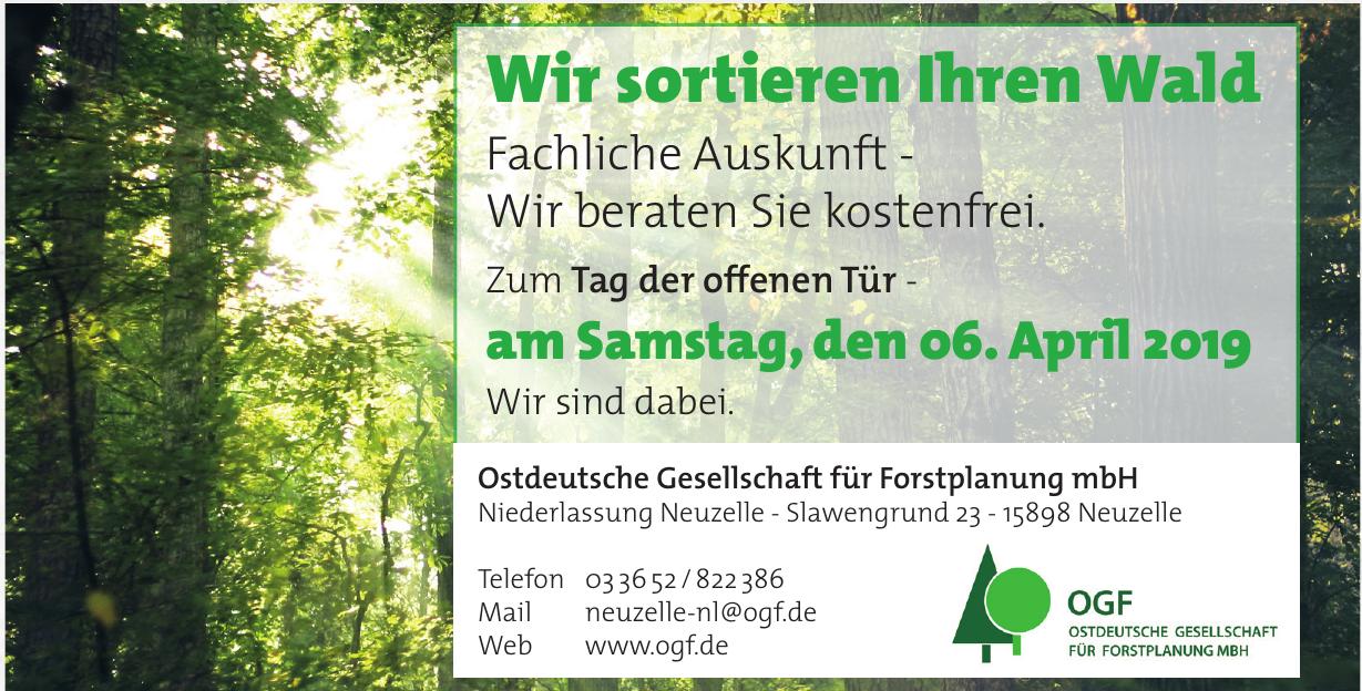 Ostdeutsche Gesellschaft für Forstplanung mbH