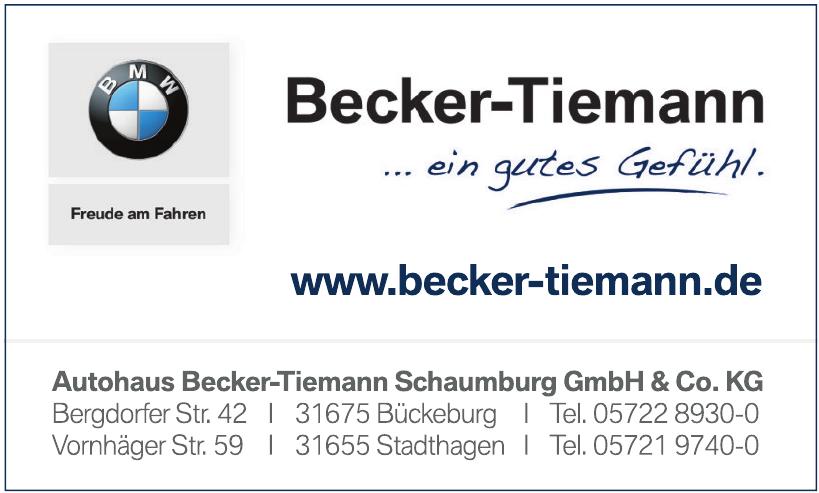 Autohaus Becker-Tiemann Schaumburg GmbH & Co. KG