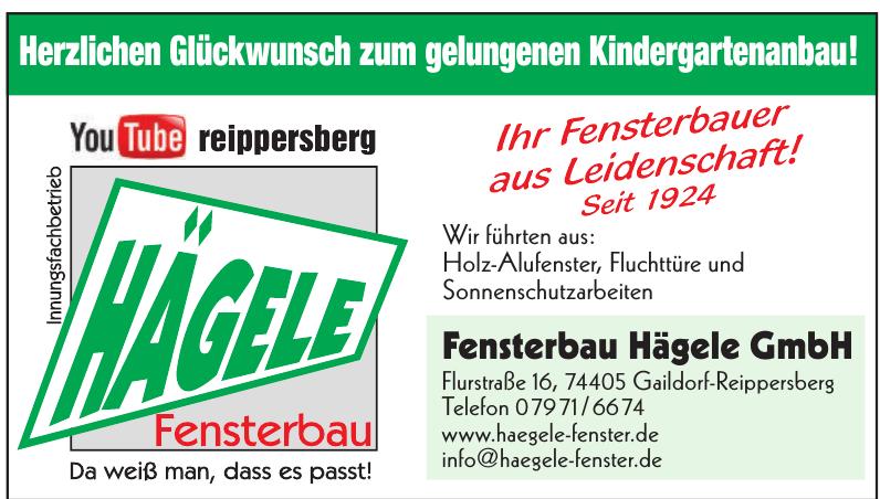 Fensterbau Hägele GmbH