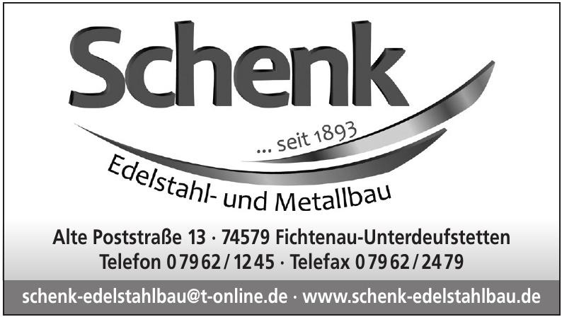 Walter Schenk GmbH Edelstahl- und Metallbau