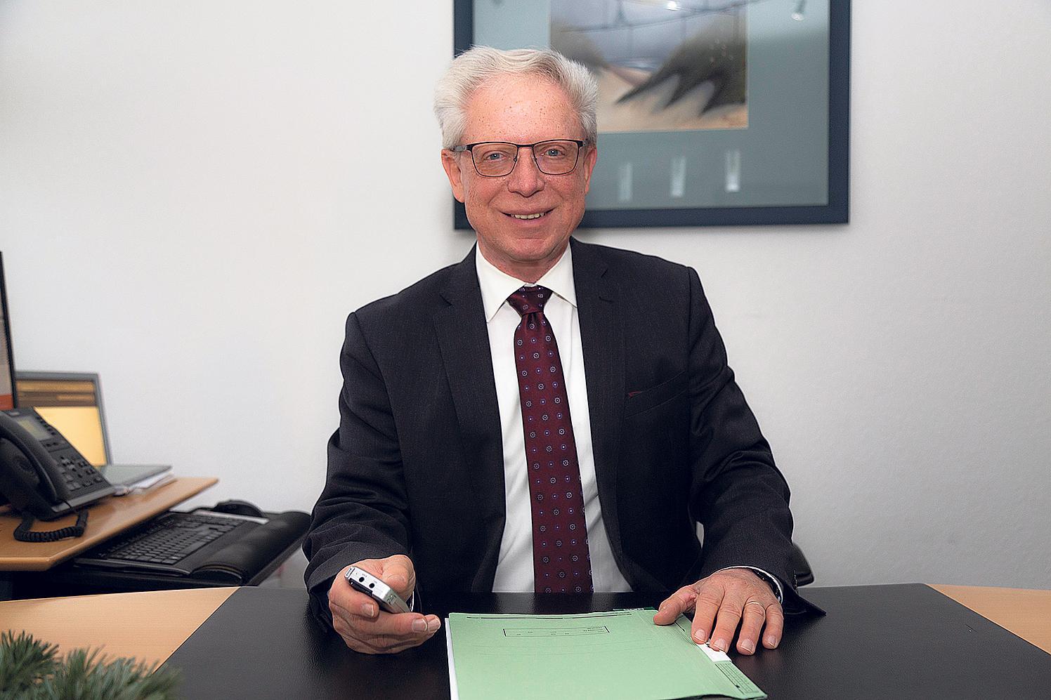 Hans-Dieter Liebelt.FOTO: RG