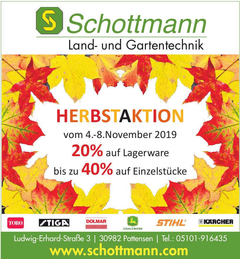 Schottmann Land- und Gartentechnik
