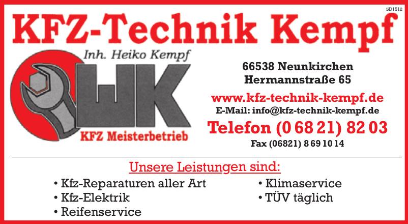 KFZ-Technik Kempf