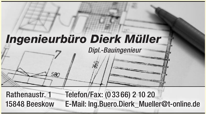 Ingenieurbüro Dierk Müller
