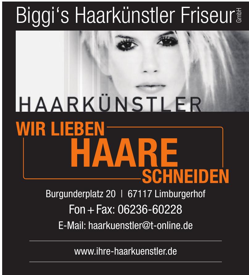 Biggi's Haarkünstler Friseur GmbH