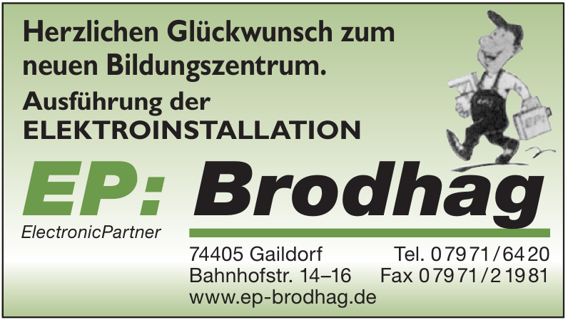 Electronic Partner Brodhag