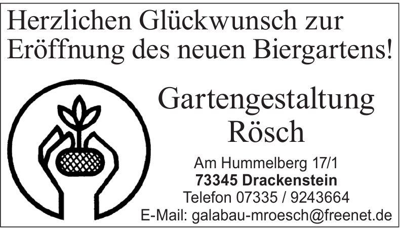 Gartengestaltung Rösch