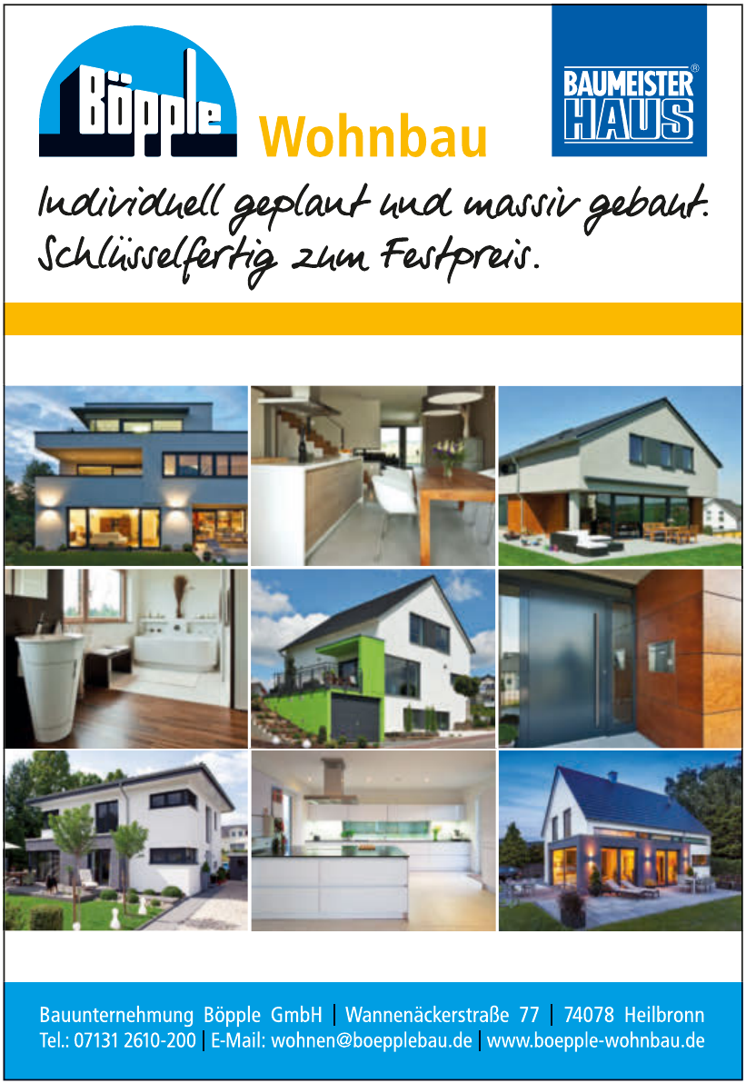 Bauunternehmung Böpple GmbH