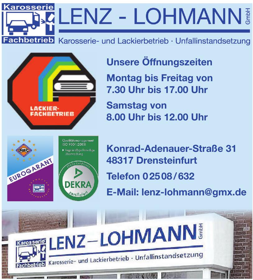 Lenz-Lohmann GmbH Karosserie- und Lackierbetrieb