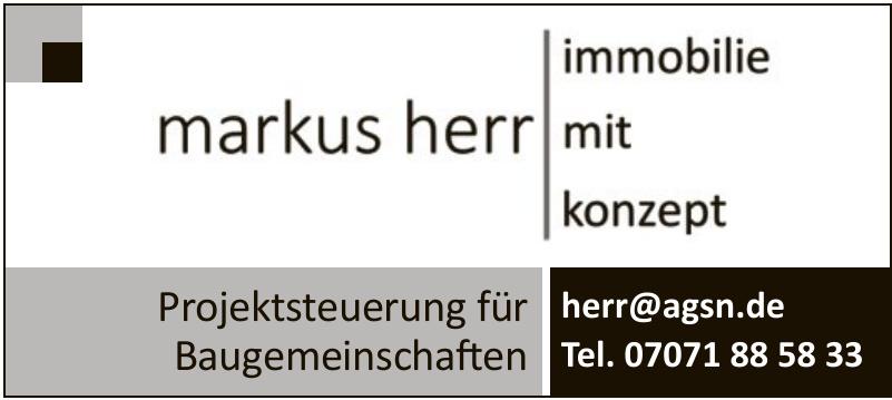 Markus Herr Immobilien mit Konzept