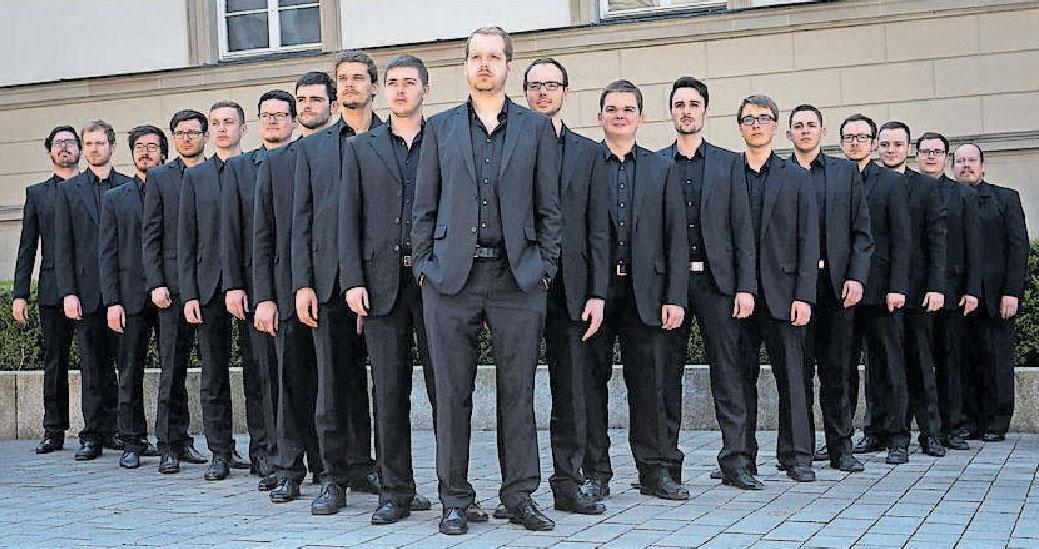Kommt im März nach Friesenheim: der A-cappella-Männerchor Vocapella. FOTO: LILL/VOCAPELLA/FREI