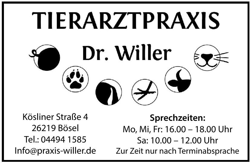 Tierarztpraxis Dr. Willer