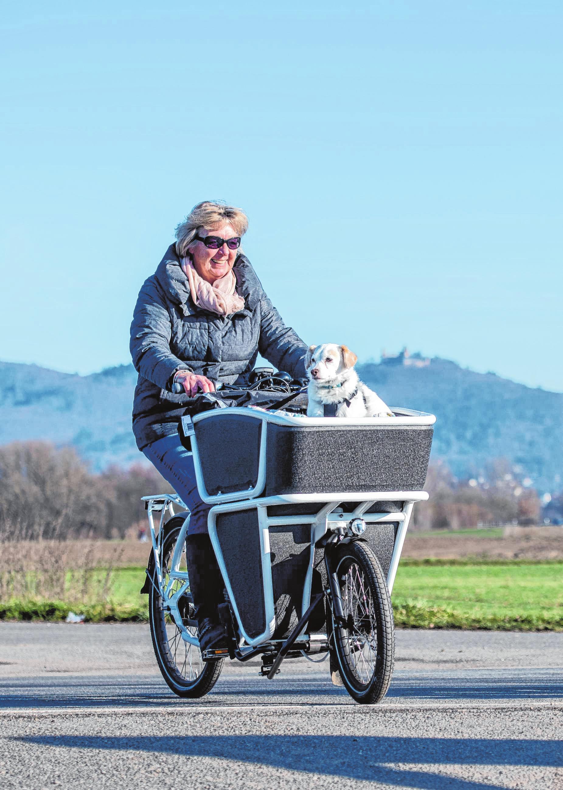 Mit Cargo-Bikes Gas geben