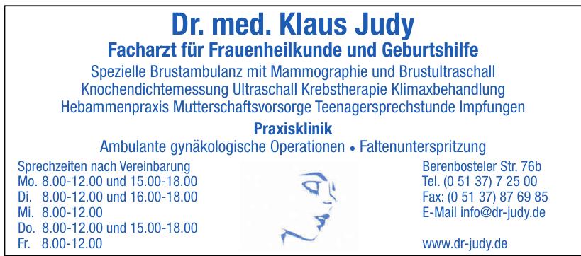 Dr. med Klaus Judy