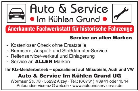 Auto & Service Im Kühlen Grund UG