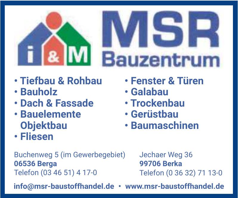 MSR Bauzentrum