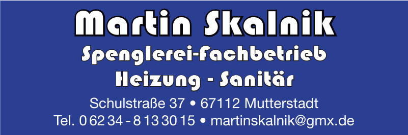 Martin Skalnik Spenglerei-Fachbetrieb Modernisierung