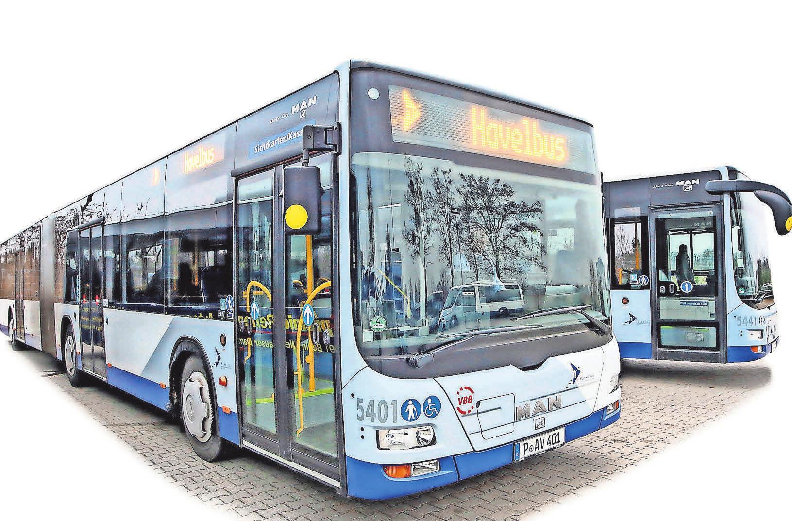 Havelbus bietet am 22. Juni einen Shuttleservice auf dem Industriepark-Gelände an. FOTO: TANJA M. MAROTZKE