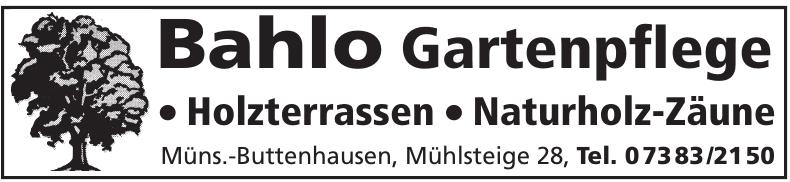 Bahlo Gartenflege