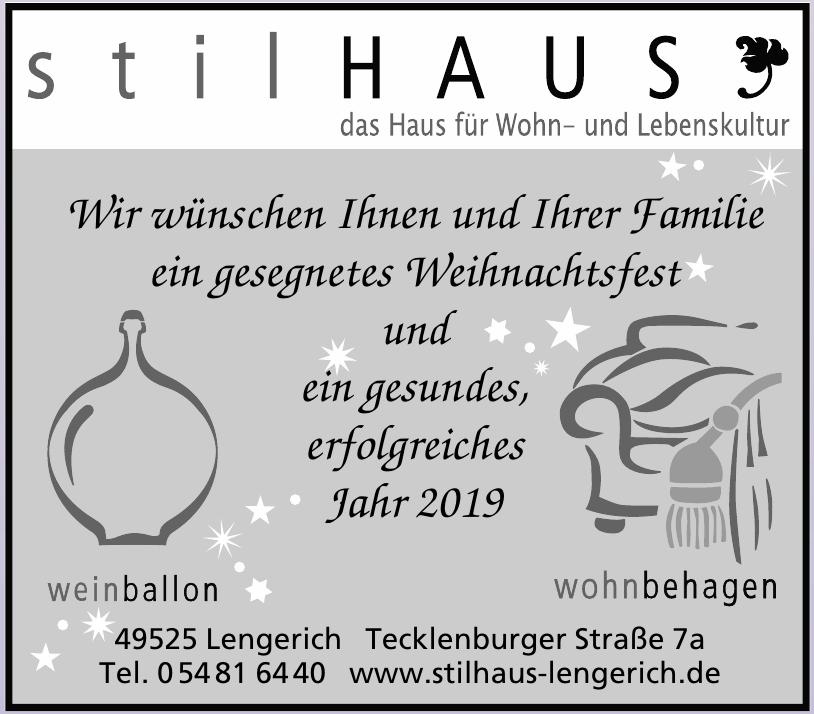 Stilhaus Lengerich