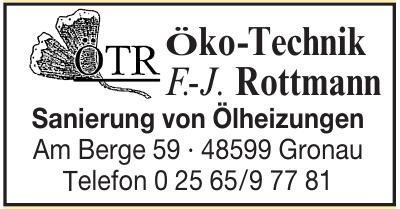 Öko-Technik F.-J. Rottmann
