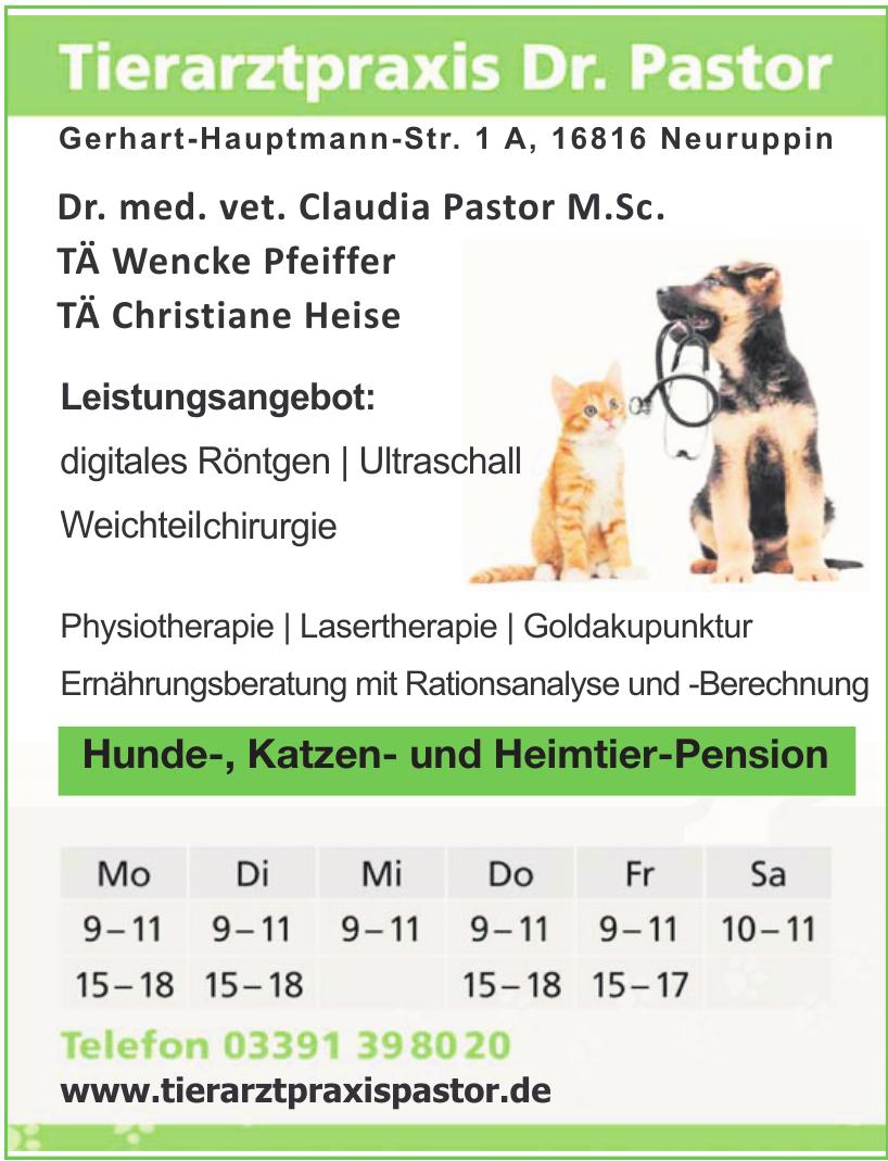 Tierarztpraxis Dr. Pastor