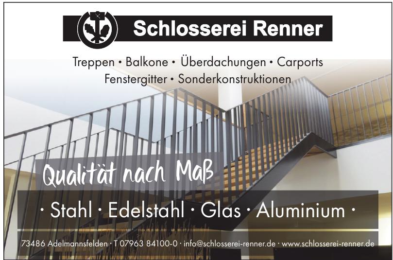 Schlosserei Renner