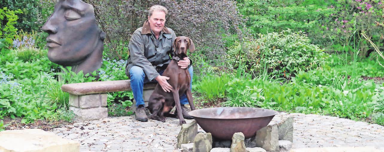Ronald Hormann kann auf die Erfahrung von 35 Jahren in der Gartenplanung zurückblicken.
