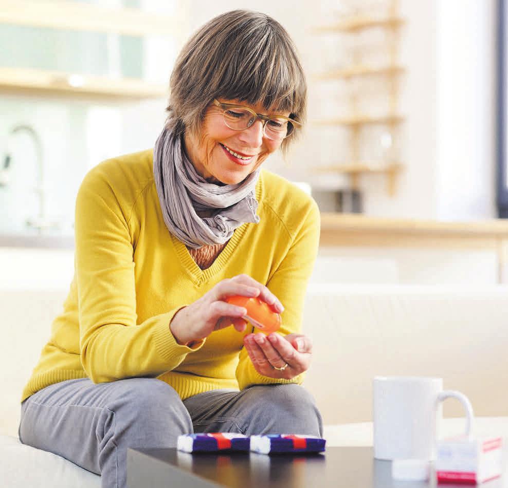 Bestimmte Medikamente hemmen die Gehsicherheit bei älteren Menschen. Vorsicht ist geboten. istockphoto.com/Thomas_EyeDesign