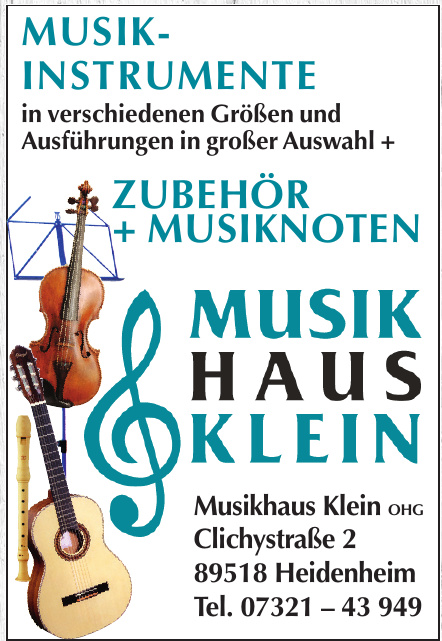 Musikhaus Klein OHG
