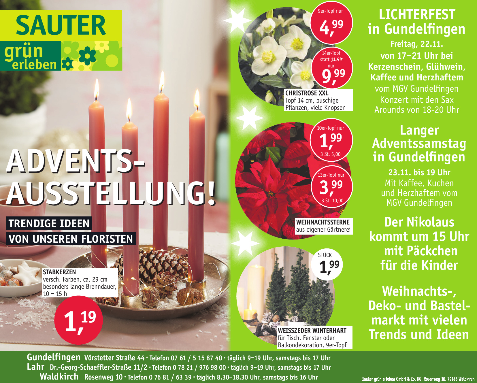 Sauter Grün erleben GmbH & Co. KG