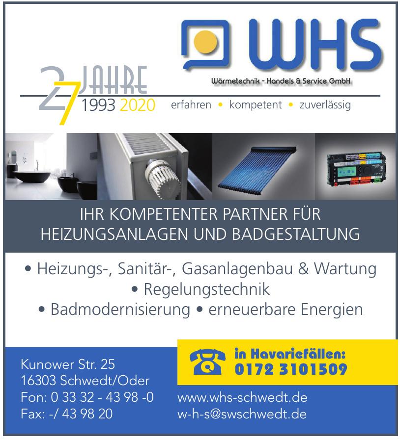 WHS Wärmetechnik-, Handel- & Service GmbH
