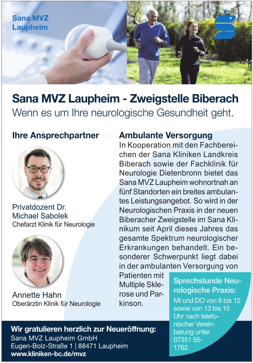 Sana MVZ Laupheim GmbH