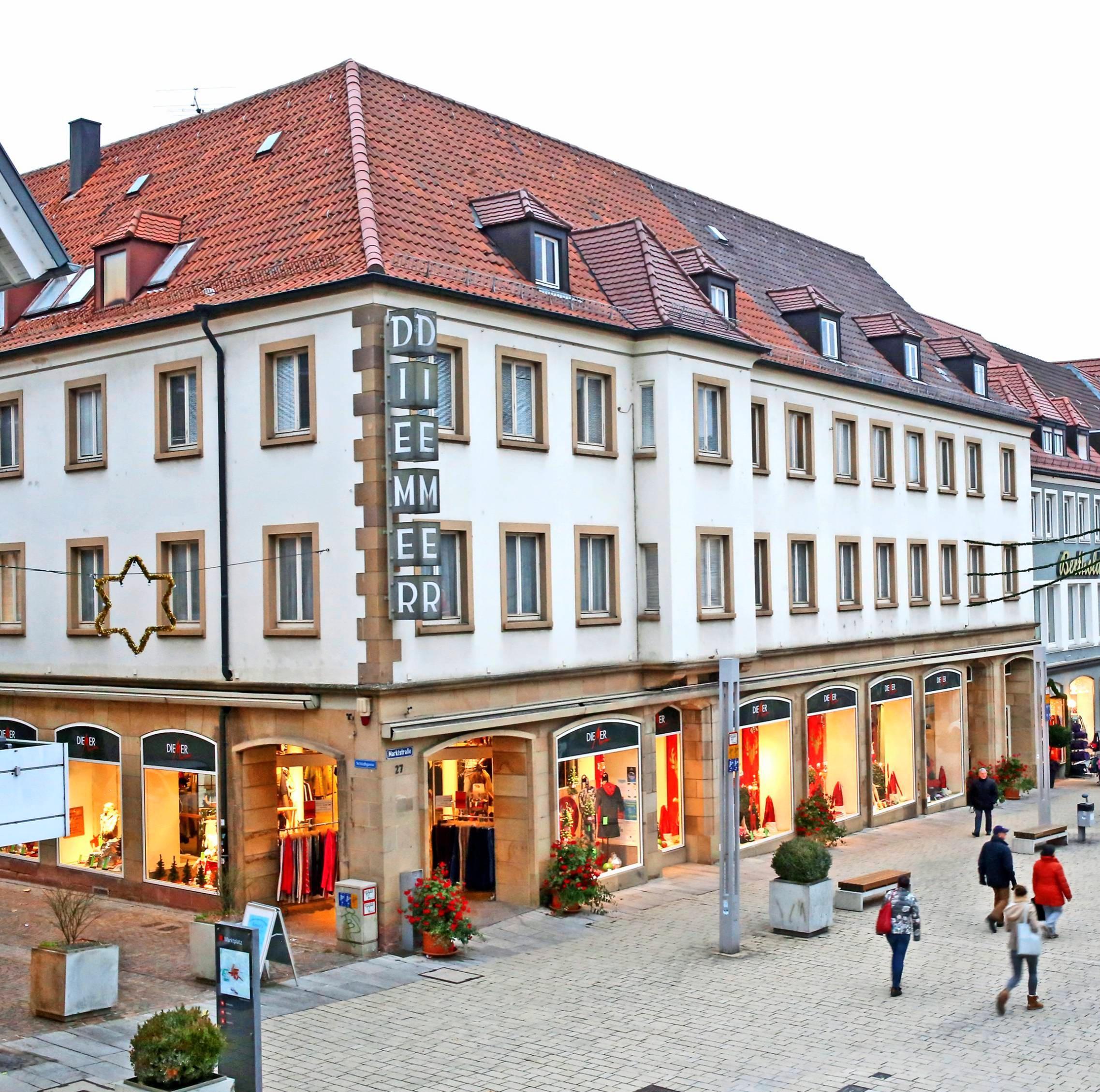 Noch bis Dezember hat das Neckarsulmer Modehaus Diemer seine Pforten geöffnet. Dann geht die 193-jährige Firmengeschichte zu Ende. Foto: Archiv/Seidel