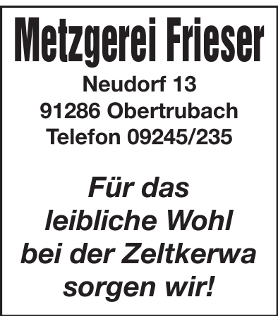 Metzgerei Frieser