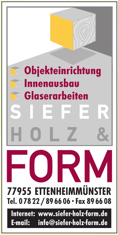 Siefer Holz & Form