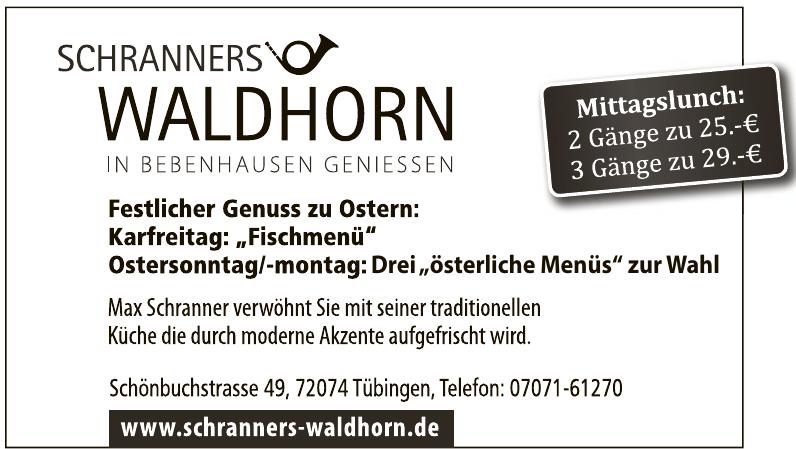 Schranners Waldhorn